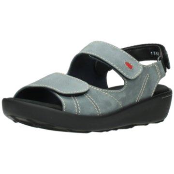 Wolky Komfort Sandale grau