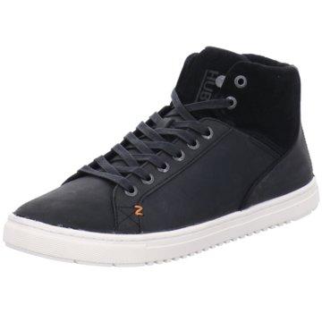Hub Sneaker High schwarz