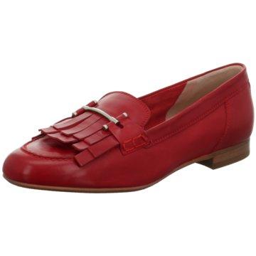 Donna Carolina Modische Slipper rot