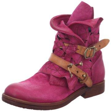 A.S.98 Modische Stiefeletten pink