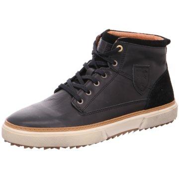Pantofola d` Oro Schnürstiefelette schwarz