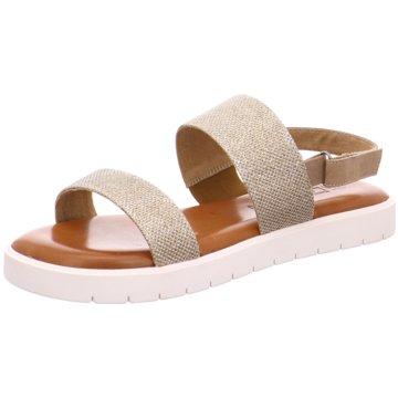 Laufsteg München Sandale beige