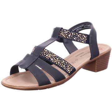 Pep Step Komfort Sandale blau
