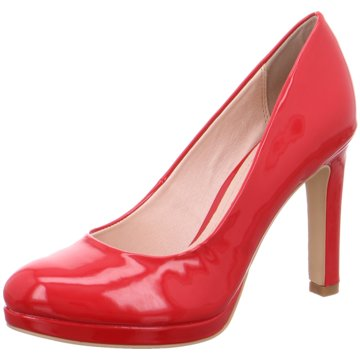 Buffalo Modische High Heels rot