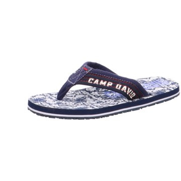 Camp David Zehentrenner blau