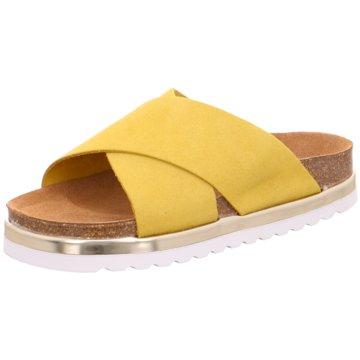 Vero Moda Klassische Pantolette gelb