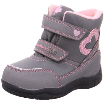 Softwaves Klettstiefel grau