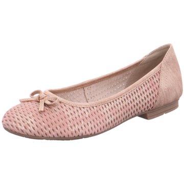 Soft Line Klassischer Ballerina rosa