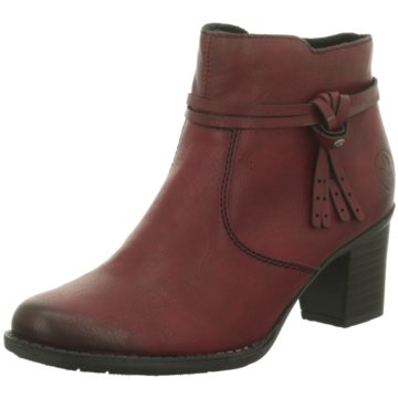 Schuhe Und Für Stiefel Damen Knallrote Echtleder T3lKJF1uc5