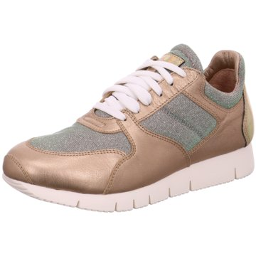 Unisa Modische Sneaker gold