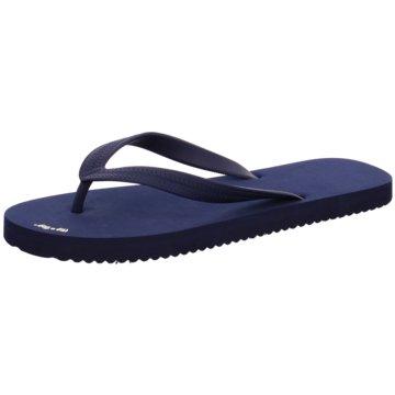 Flip-Flop Zehentrenner blau