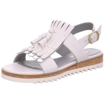 Maripé Modische Sandaletten weiß