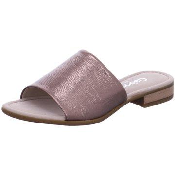 Gabor comfort Klassische Pantolette rosa