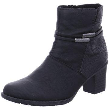 S Schuhe Stiefelette Offen oliver Herren Schlupf Leder Black