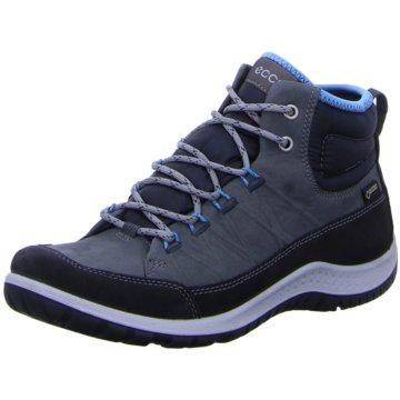 Ecco Outdoor Schuh blau