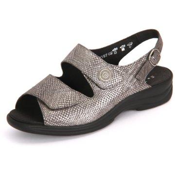 Solidus Komfort Sandale grau