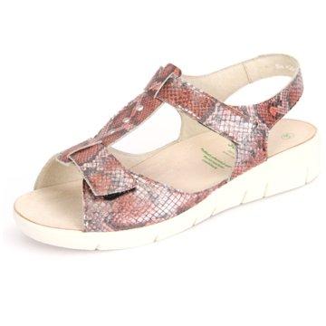 Solidus Komfort Sandale rot
