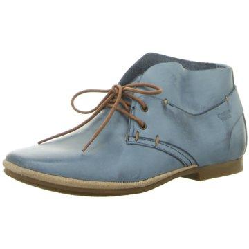 CoqueTerra Klassischer Schnürschuh blau
