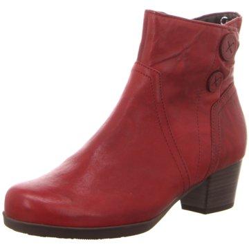 Gabor Klassische Stiefelette rot