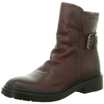 camel active Komfort Stiefelette rot