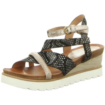 Mjus Modische Sandaletten schwarz