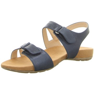 Caprice Komfort Sandale blau