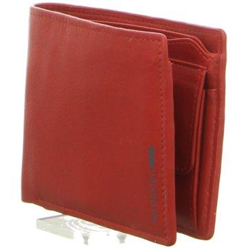 Voi Leather Design Geldbörse rot