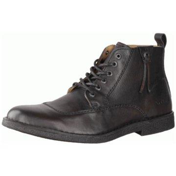 Kickers Schnürstiefelette schwarz