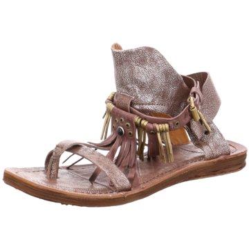 A.S.98 Modische Sandaletten braun