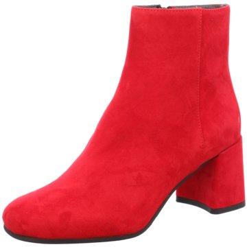 Maripé Modische Stiefeletten rot