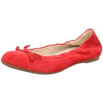 Gabor comfort Faltbarer Ballerina rot