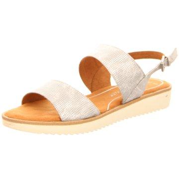 Marco Tozzi Sandale silber