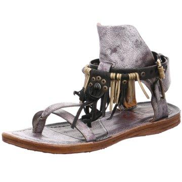 A.S.98 Modische Sandaletten grau