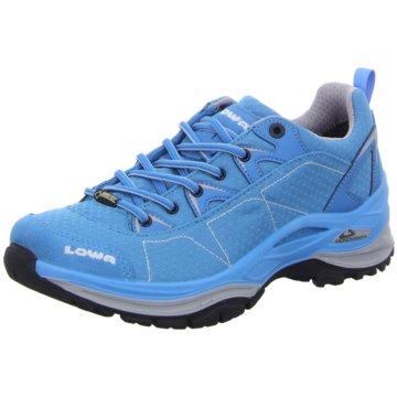LOWA Trekkingschuhe blau