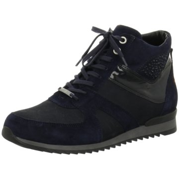 Waldläufer Sneaker High schwarz