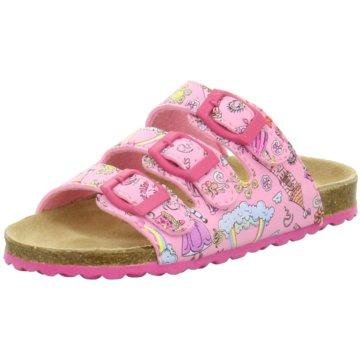 Indigo Offene Schuhe rosa
