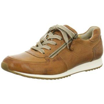Paul Green Sneaker Low braun