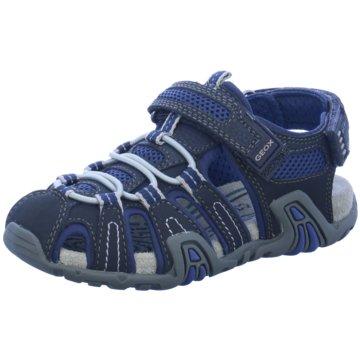 Geox Offene Schuhe blau