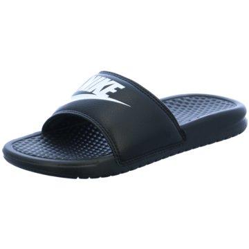 Nike Badelatsche schwarz