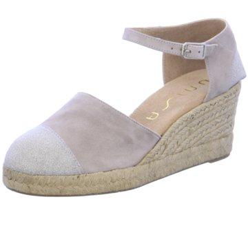 Unisa Modische Sandaletten grau