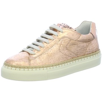 Voile Blanche Modische Sneaker gold