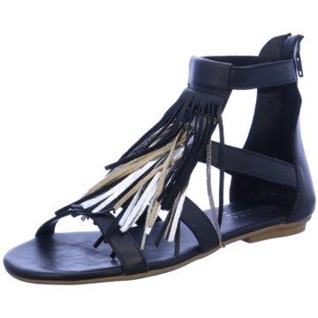MACA Modische Sandaletten schwarz