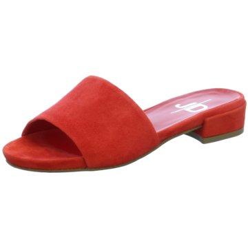 The Seller Klassische Pantolette rot