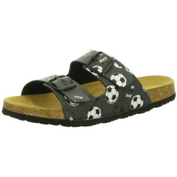 Longo Offene Schuhe schwarz