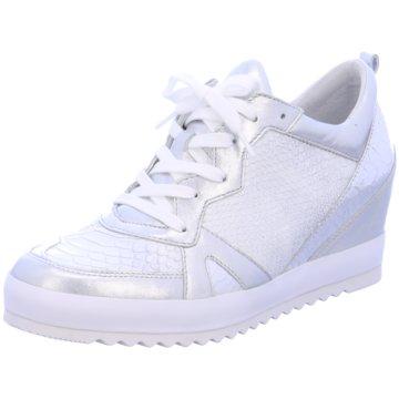 Gabor Sneaker Wedges weiß