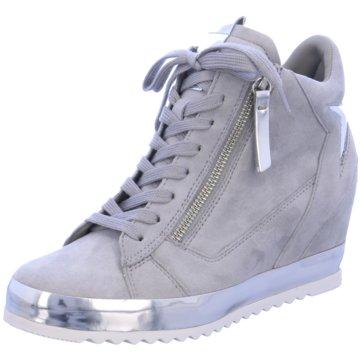 Gabor Sneaker Wedges grau