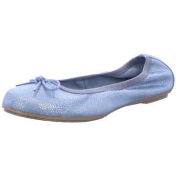 Marco Tozzi Ballerina blau