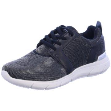 Tom Tailor Sneaker Low schwarz