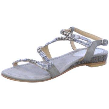 Lazamani Modische Sandaletten grau