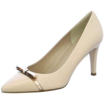 Mimo Modische High Heels beige
